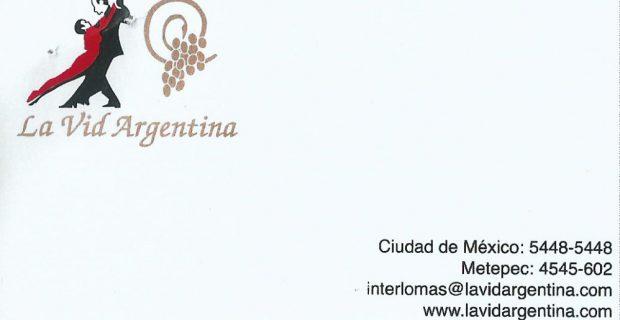 La Vid Argentina – Restaurante