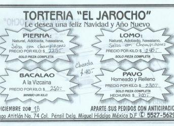 Torteria El Jarocho
