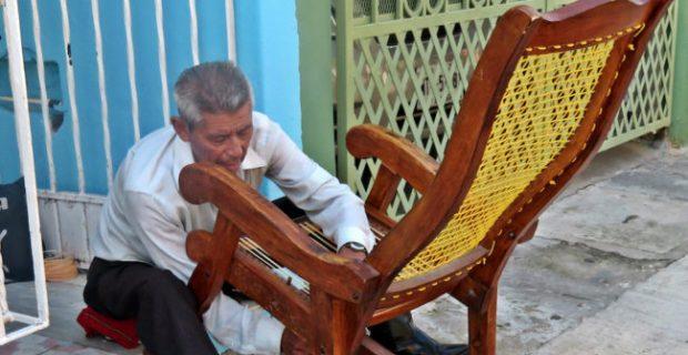 Artesano Tejedor Sr. Lorenzo Sanchez