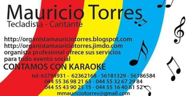 Tecladista Mauricio Torres