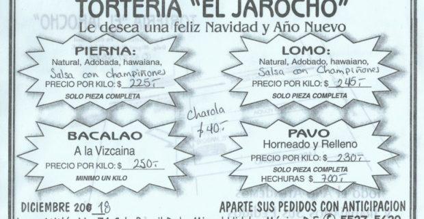 Tortas EL JAROCHO